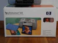 HP Photo printer. Printing 4x6 pictures. Used few