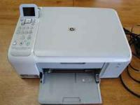 For Sale are two HP Photosmart C4140 All-in-One color