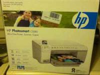 HP photosmart c5280 all in one printer(like new)