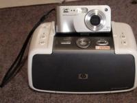 HP camera and printer all-in-one with manuals and