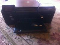 Selling an HP photosmart D 110 series wireless printer.