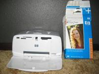 HP Photosmart Photo Printer model Q6377L. Includes a