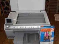 HP PhotoSmart all in one printer-scanner-and copier.