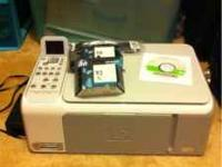 HP Photosmart C4180 all in one printer. Has all cables,