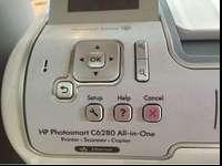 HP Photosmart C6280 printer with copier and scanner.