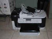 HP Officejet 6500 printer, copier,fax machine. Good