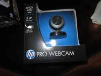 Hp pro webcam brand new still in box unopened. I paid