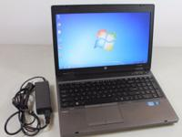 "Refurbished HP ProBook 6560B Laptop w/ 15.6"" LCD Screen"