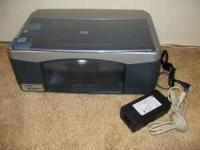 HP PSC 1350 All In One Printer Copier Scanner Excellent