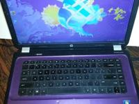 Hp Purple Laptop computer - Super Nice - Windows 7 -
