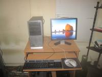 Hp desktop computer with:. 1)  Amd Phenom Quad