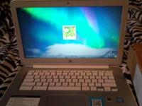 I have a white precious stone HP Chromebook 14 labtop