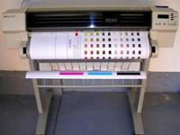 Good condition works well. Color large format printer.