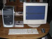 Nice Hewlett-Packard computer for sale. Perfect for