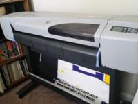 I have an HP DesignJet 500 large format printer for