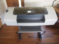 Lightly used, excellent condition plotter/printer. Just