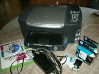 For Sale is a HP PSC 2510 All-In-One Printer that