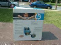 Barely used HP photo printer. Only ever used the sample