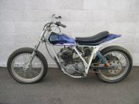 VERY RARE FIND - A C&J FRAMED XR500 HONDA ( HPF ) HORSE