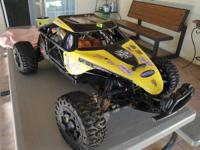 Selling an HPI Baja 5T SC with Twin Engine - Lot's of