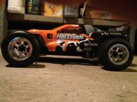 I have an hpi firestorm 2wd truck gas powered rc. I got