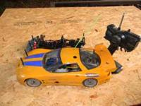 HPI Nitro On-road R/C (remote control) on-road car.