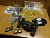 HPI RS4 Rally car for sale.  This is a belt 4WD car