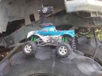 hpi savage 25..needs glow plug and the electric