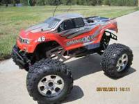 Hi I have a hpi savage with a 4.6 big block motor...