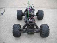 hpi savage 4.6 big block 4x4 comes with extra tires
