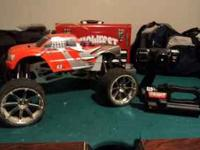 HPI Racing Savage K25 4X4 1/8th scale truck. Runs