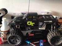 HPI Savage XL SS Nitro Truck with K5.9 huge block