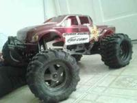 I have a Hpi savage ss truck for sale. New aluminium