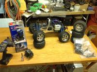 Hpi savage x 4/4 3speed trany meany extra parts .