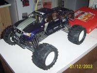 Hpi Savage SS Monster Truck Kit. Built roughly 1 year