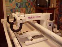 HQ -16 2005 Stitch regulated quilting machine and HQ