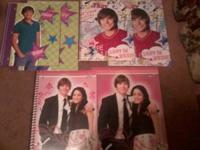 FOR SALE: High School Musical Folders and Notebooks!!!