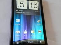 Here is one of our phones - an HTC EVO 3D (Sprint). It