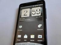 Here is one of our cell phones - an HTC EVO 4G (Bad