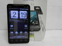 Here is one of our phones - a HTC EVO 4G (Sprint). It