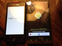 Offering an htc unbelievable for verizon, 25 Obo. Back