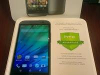 New HTC M8 - the new one- for sale- box and everything