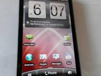 Here is one of our phones - an HTC Thunderbolt 4G LTE
