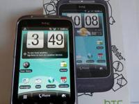 Here is one of our cell phones - an HTC Wildfire S (Bad