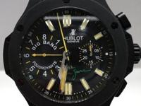 This is a Hublot, Big Bang Ayrton Senna Foudroyante L.E