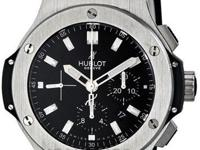Hublot Big Bang Black Dial Chronograph Mens Watch