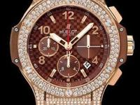Retail Price:: $45,900.00 Hublot Big Bang Cappuccino -