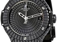 Hublot Big Bang Caviar Black Ceramic Mens Watch