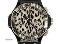 Pre-Owned Hublot Big Bang Chronograph Leopard