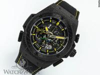 Features Chronograph Case Details 48mm Black Forged